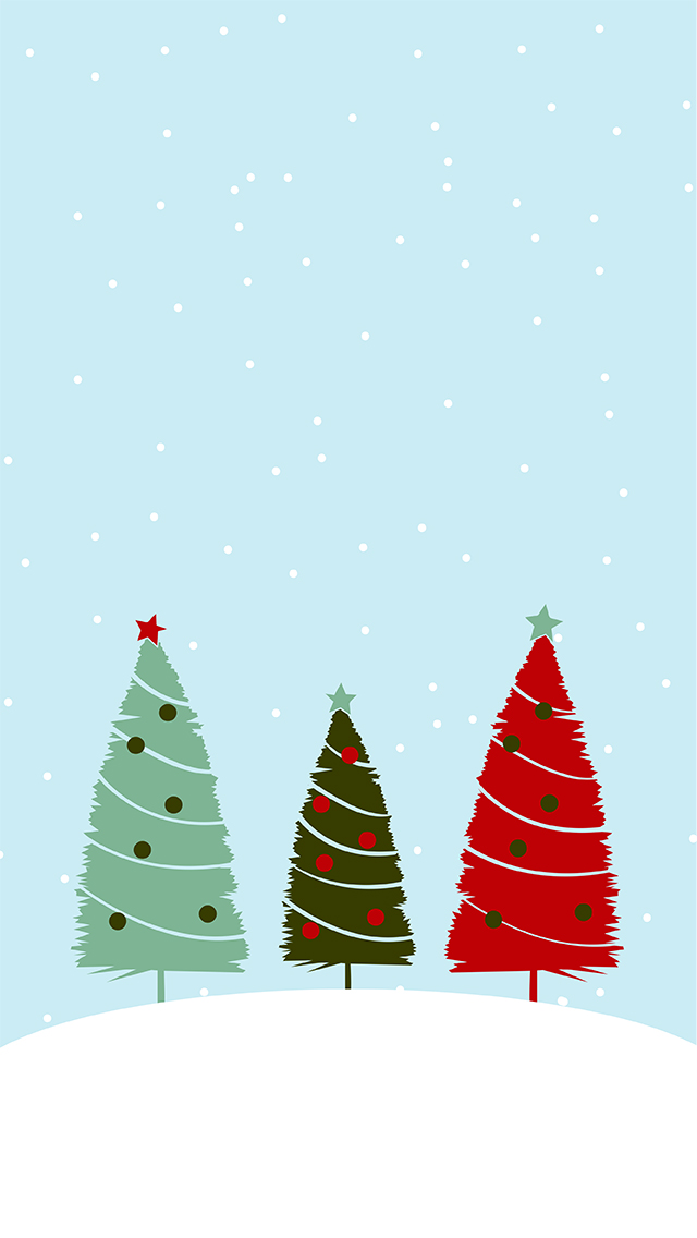 Christmas Phone Wallpapers | The Curvaceous Vegan