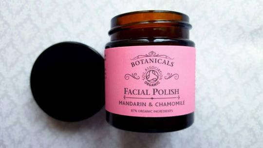 botanicals organic face polish