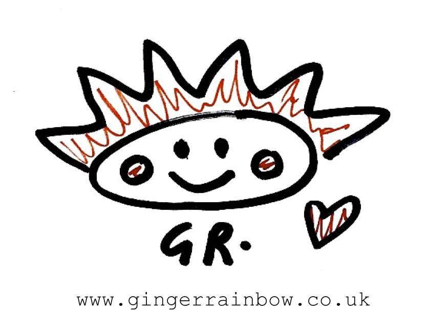 ginger rainbow