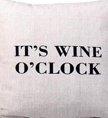 It's wine o