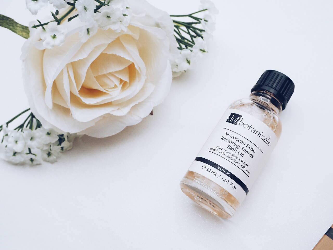 Dr Botanicals Moroccan Rose Senses Bath Oil